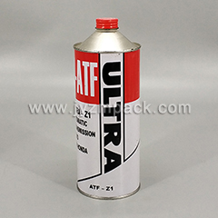 1 Liter flat top can